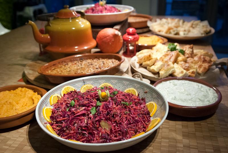 EASTERN EUROPEAN DINNER AND FILMS | Het Nutshuis Day 1